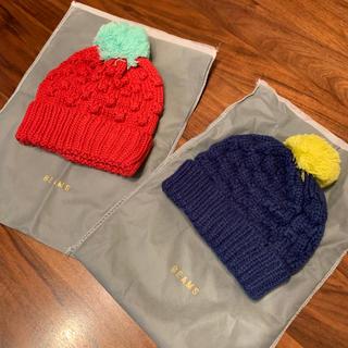 ビームス(BEAMS)のBEAMS mini*ニット帽   2枚set(帽子)