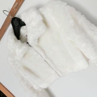 リズリサ(LIZ LISA)の超美品☆LIZ LISA リズリサ フェイクファージャケット モテコーデ(毛皮/ファーコート)