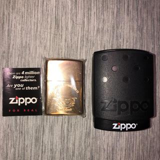 ジッポー(ZIPPO)の【新品未使用】ジッポ Zippo 金色(タバコグッズ)
