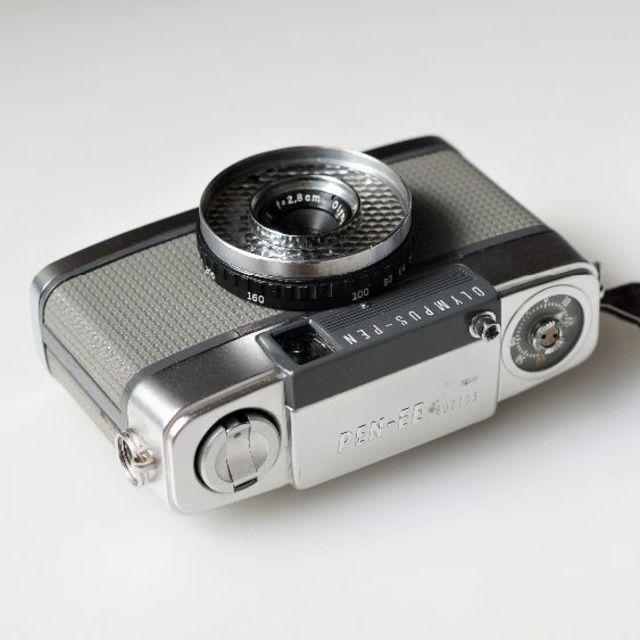 OLYMPUS(オリンパス)の♡整備・完働品♡ オリンパス Olympus pen EE スマホ/家電/カメラのカメラ(フィルムカメラ)の商品写真