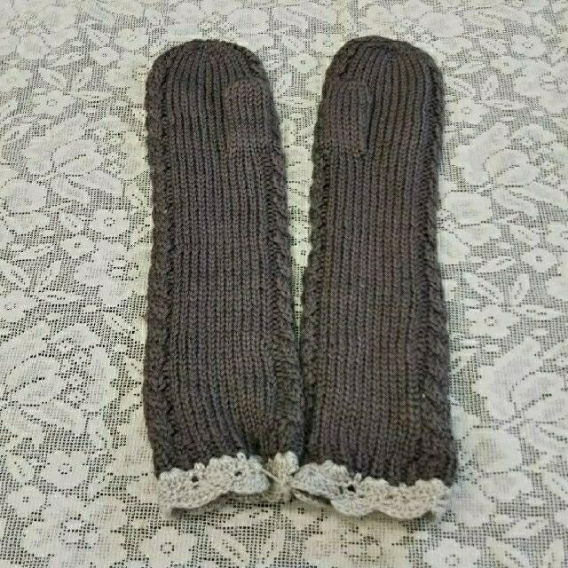 SM2(サマンサモスモス)の新品未使用*SM2訳ありミトン手袋 キッズ/ベビー/マタニティのこども用ファッション小物(手袋)の商品写真
