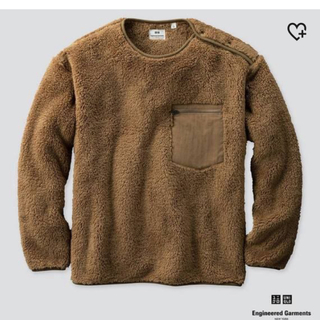 エンジニアードガーメンツ(Engineered Garments)のUNIQLO フリースプルオーバー M(スウェット)