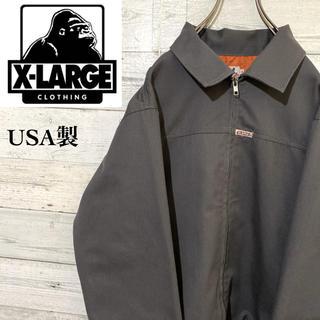XLARGE - 【レア】エクストララージ☆USA製 ロゴタグ スウィングトップ ワークジャケット