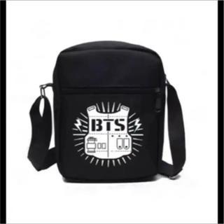 最後の1個❗️実物掲載❣️防弾少年団(BTS)❣️黒肩掛けバッグ