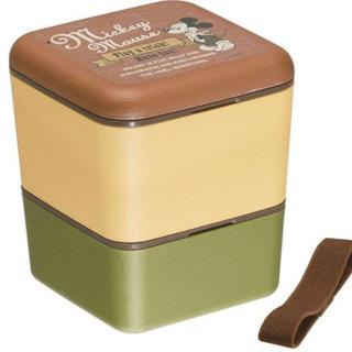ミッキーマウス(ミッキーマウス)のミッキー 木目 木目調 お弁当箱(弁当用品)