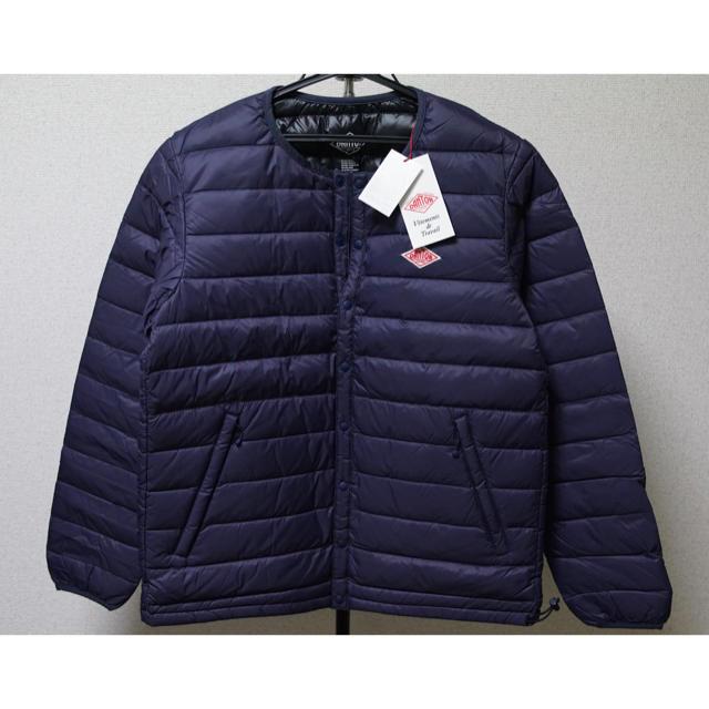DANTON(ダントン)の 新品 DANTON ダントン インナーダウン メンズ 40 ネイビー メンズのジャケット/アウター(ダウンジャケット)の商品写真