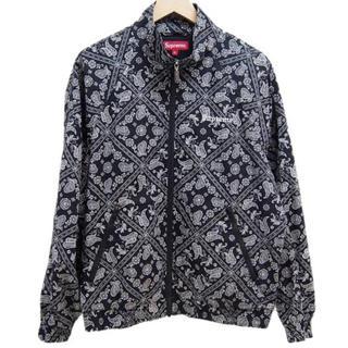 supreme bandana track jacket S(ナイロンジャケット)