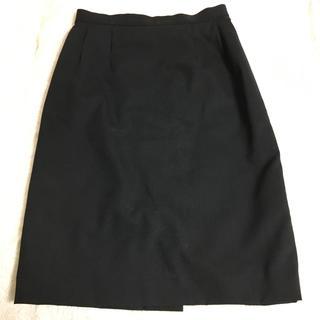 エンリココベリ(ENRICO COVERI)の黒 タイトスカート(スーツ)