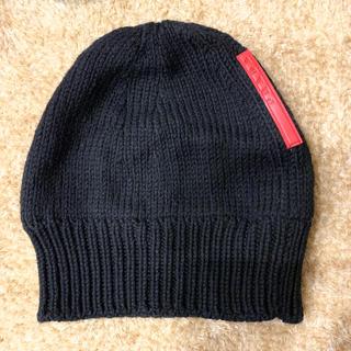 プラダ(PRADA)のPRADA  ニット帽(帽子)