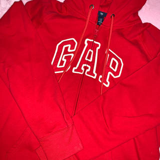 GAP - GAP パーカー 赤