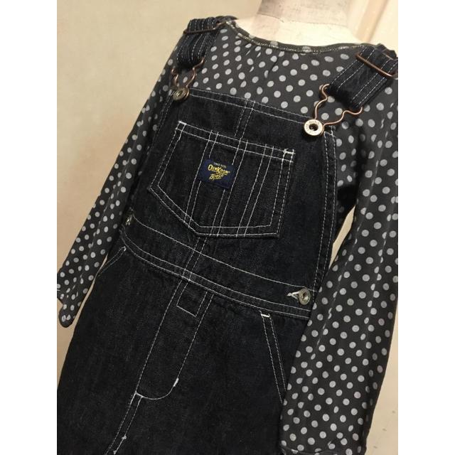 OshKosh(オシュコシュ)のOshkosh オシュコシュ デニム サロペット スカート 95cm キッズ/ベビー/マタニティのキッズ服 女の子用(90cm~)(ワンピース)の商品写真
