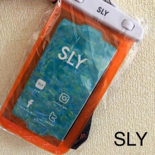 SLY スマホケース 防水