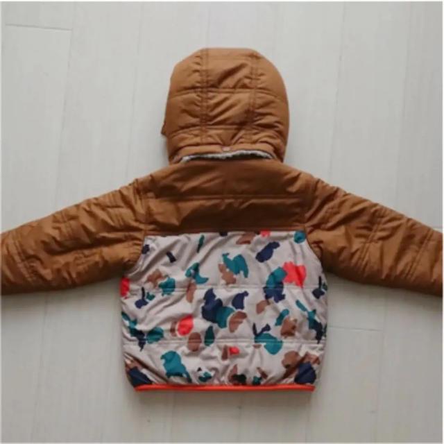 patagonia(パタゴニア)のパタゴニア リバーシブル ダウン 12〜18m キッズ/ベビー/マタニティのベビー服(~85cm)(ジャケット/コート)の商品写真