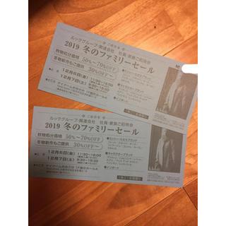 マリメッコ(marimekko)のLOOK ファミリーセール 大阪 招待券(ショッピング)