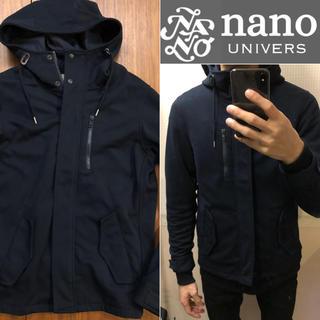 nano・universe - nano universモッズコートフーディコートメンズ送料込
