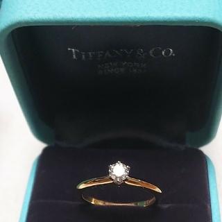 ティファニー(Tiffany & Co.)のティファニーダイヤリング  750YG/Pt950(リング(指輪))