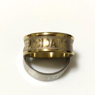 同時購入で300円ステンレス指輪felicidade(リング(指輪))