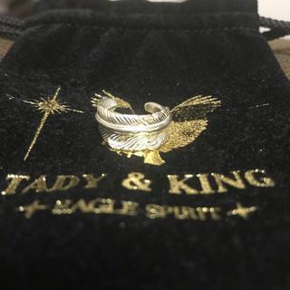 ゴローズ(goro's)のタディアンドキング  TADY&KING フェザーリング ゴローズ 6号(リング(指輪))