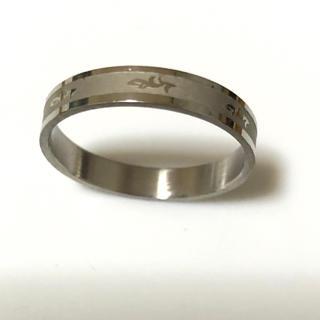 同時購入で300円ステンレス指輪 細いタイプ(リング(指輪))