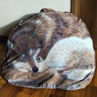 フェリシモ(FELISSIMO)の布団収納オオカミクッションカバー(シーツ/カバー)