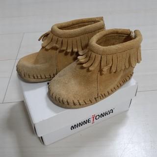 ミネトンカ(Minnetonka)のMINNETONKA 14センチ(ブーツ)