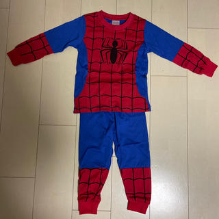 マーベル(MARVEL)のスパイダーマン なりきり パジャマ 100cm ①(パジャマ)