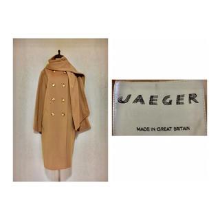 グリモワール(Grimoire)の80s JAEGER Vintage Shawl Coat カシミア イエガー(ロングコート)