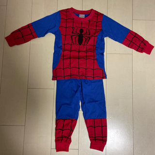 マーベル(MARVEL)のスパイダーマン なりきり パジャマ 100cm ②(パジャマ)