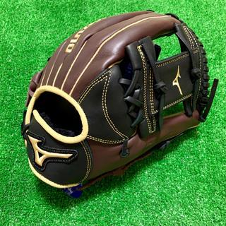 MIZUNO - 新品 USAミズノ 硬式用 内野手用 MVP PRIME ブラック チェリー