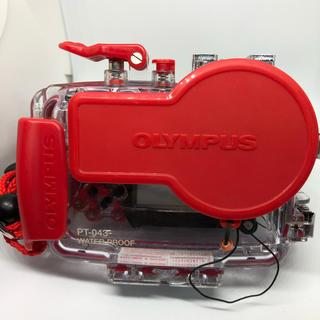オリンパス(OLYMPUS)の OLYMPUS PT-043 防水プロテクター カメラ用ハウジング(マリン/スイミング)