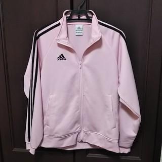 adidas - アディダス160 ピンクジャージ上