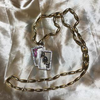 アヴァランチ(AVALANCHE)のトランプ 10k ネックレス(ネックレス)