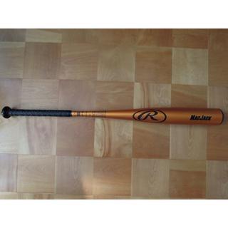 ローリングス(Rawlings)の【未使用】ローリングス  硬式 野球 金属バット マックジャック 84cm(バット)