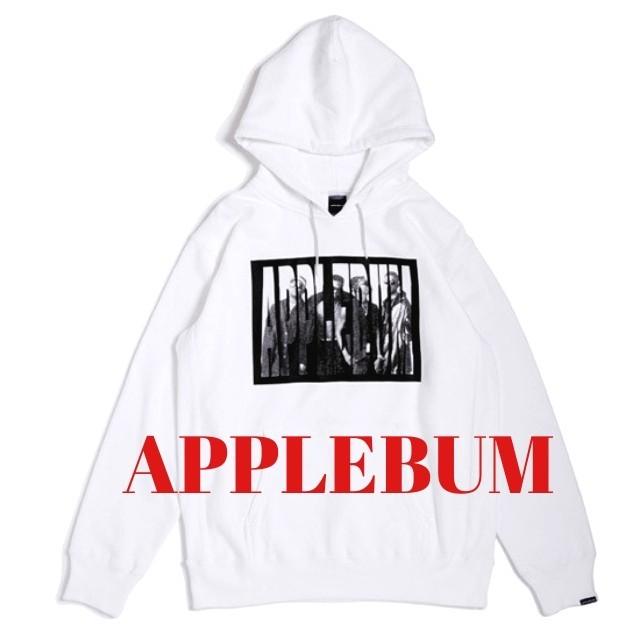 APPLEBUM(アップルバム)のAPPLEBUM スウェット パーカー アップルバム M ホワイト  メンズのトップス(パーカー)の商品写真
