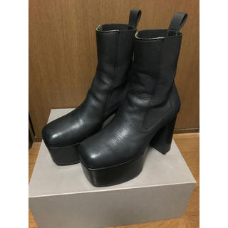 Rick Owens - rickowens elastic kiss boots