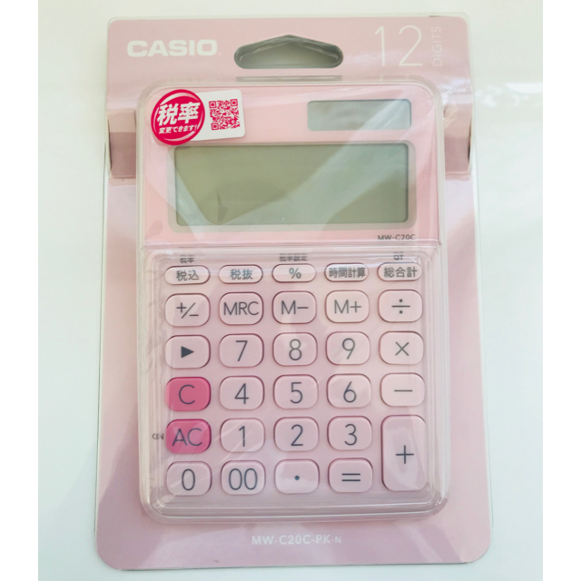 CASIO(カシオ)のCASIO 電卓 インテリア/住まい/日用品のオフィス用品(オフィス用品一般)の商品写真