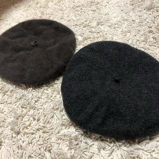 サマンサモスモス(SM2)のベレー帽 スペイン製(ハンチング/ベレー帽)