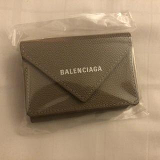 Balenciaga - balenciaga ベージュ ミニウォレット