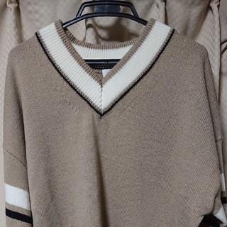 ウィゴー(WEGO)のWEGO カラーラインチルデンセーター(ニット/セーター)