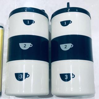 クリハラハルミ(栗原はるみ)の栗原はるみ 丸型ランチボックス 3段(巾着付き)2セット(弁当用品)