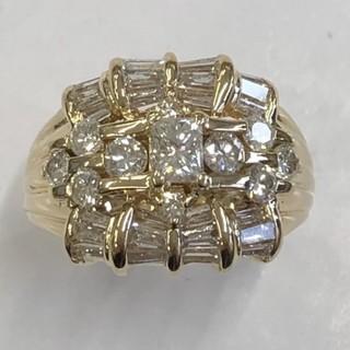 限定 K18 ダイヤモンド リング   2,02ct #14(リング(指輪))