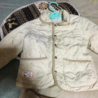 サンカンシオン(3can4on)の3can4on キルティングジャケット 100cm(ジャケット/上着)