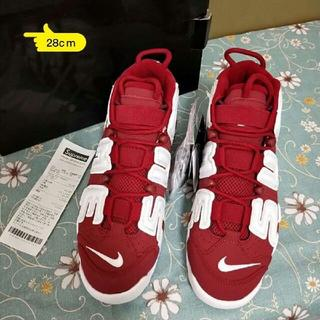 ナイキ(NIKE)のSupreme Nike Air More Uptempo 28cm(スニーカー)