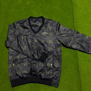 キャロウェイゴルフ(Callaway Golf)のキャロウェイ ブルゾン秋冬用 袖取り外し可能(ウエア)