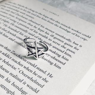 ジーナシス(JEANASIS)のヴィンテージ   シルバー 925 スター リング(リング(指輪))