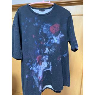 ラッドミュージシャン(LAD MUSICIAN)のLAD MUSICIAN 花柄 T-SHIRT 46 ラッドミュージシャン(Tシャツ/カットソー(半袖/袖なし))