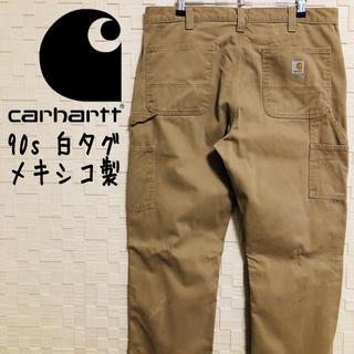 carhartt - 【メキシコ製】90s カーハート ペインターパンツ ベージュ 大人気アースカラー