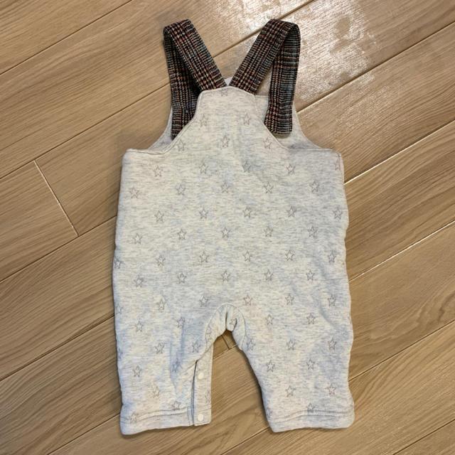 petit main(プティマイン)のサロペット キルティング キッズ/ベビー/マタニティのベビー服(~85cm)(その他)の商品写真