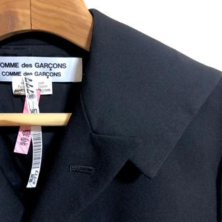 COMME des GARCONS - 未使用美品 16SS ウールギャバ コムコムロングジャケット