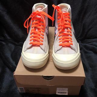 オフホワイト(OFF-WHITE)のOff White Nike 初期 Blazer White 28cm us10(スニーカー)